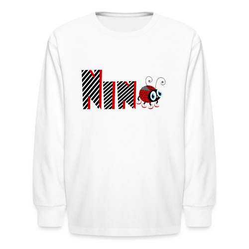 9nd Year Family Ladybug T-Shirts Gifts Daughter - Kids' Long Sleeve T-Shirt