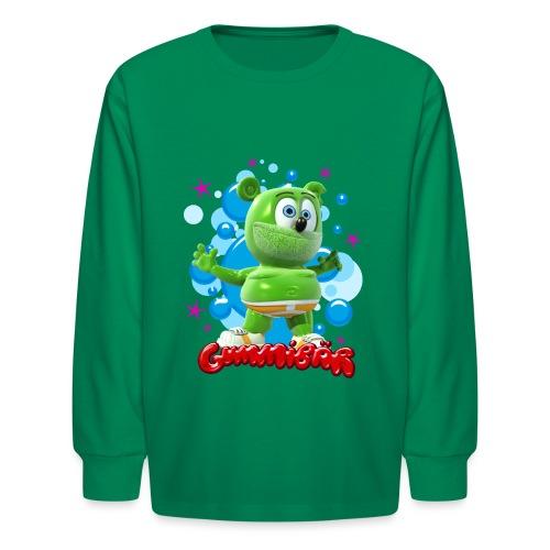Gummibär Bubbles - Kids' Long Sleeve T-Shirt