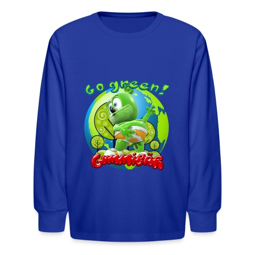 Gummibär Go Green Earth Day Earth - Kids' Long Sleeve T-Shirt