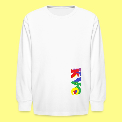 1 - Kids' Long Sleeve T-Shirt