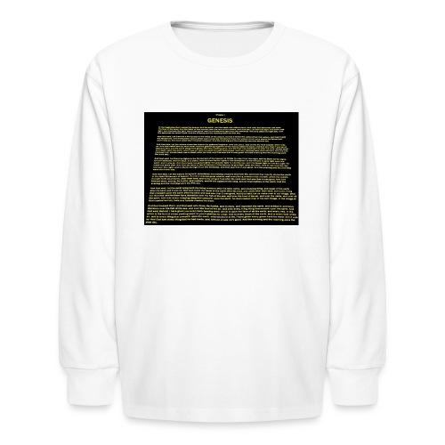 gen 1 slanty 1 - Kids' Long Sleeve T-Shirt