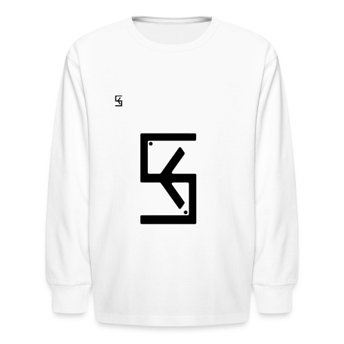 Soft Kore Logo Black - Kids' Long Sleeve T-Shirt