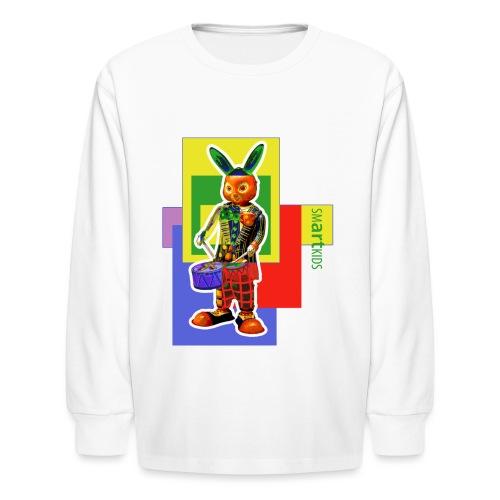 smARTkids - Slammin' Rabbit - Kids' Long Sleeve T-Shirt