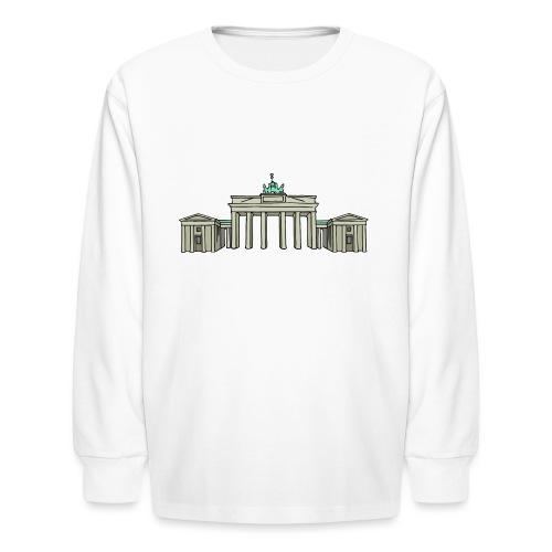 Brandenburg Gate Berlin - Kids' Long Sleeve T-Shirt