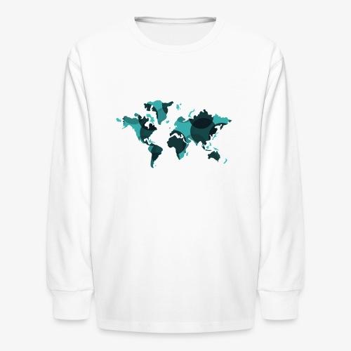 Artsy Earth - Kids' Long Sleeve T-Shirt