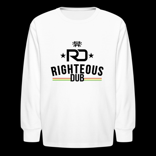 Righteous Dub Logo - Kids' Long Sleeve T-Shirt