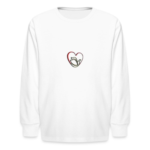Love and Pureness of a Dove - Kids' Long Sleeve T-Shirt