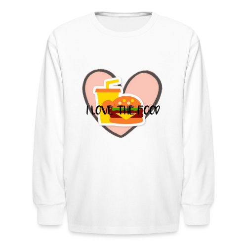 Food - Kids' Long Sleeve T-Shirt