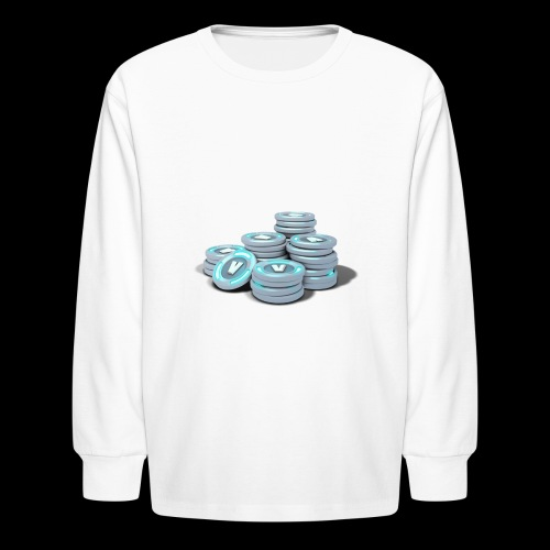vbucks - Kids' Long Sleeve T-Shirt
