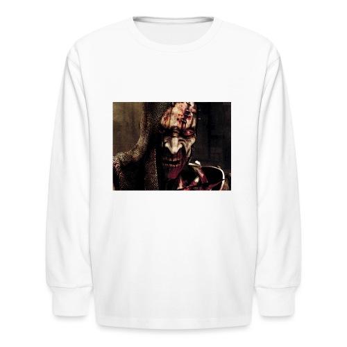 Zomby stranger - Kids' Long Sleeve T-Shirt