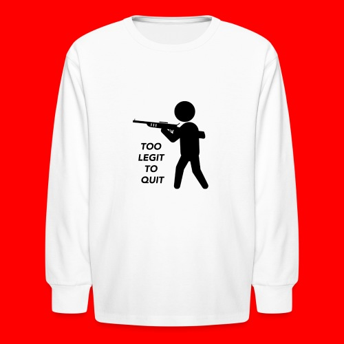 OxyGang: Too Legit To Quit Products - Kids' Long Sleeve T-Shirt