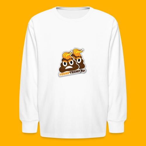 dumpTrump - Kids' Long Sleeve T-Shirt