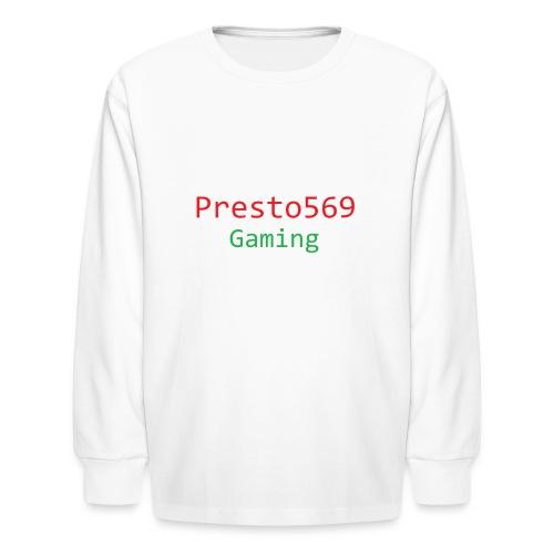 Presto569 Gaming - Kids' Long Sleeve T-Shirt