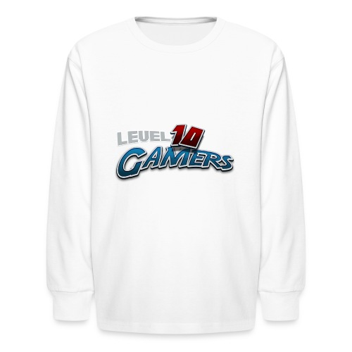 Level10Gamers Logo - Kids' Long Sleeve T-Shirt