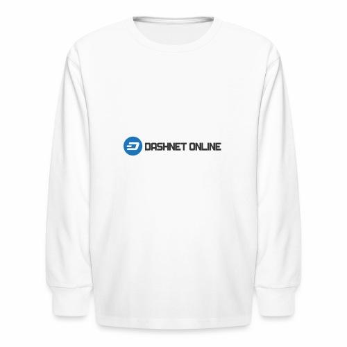 dashnet online dark - Kids' Long Sleeve T-Shirt