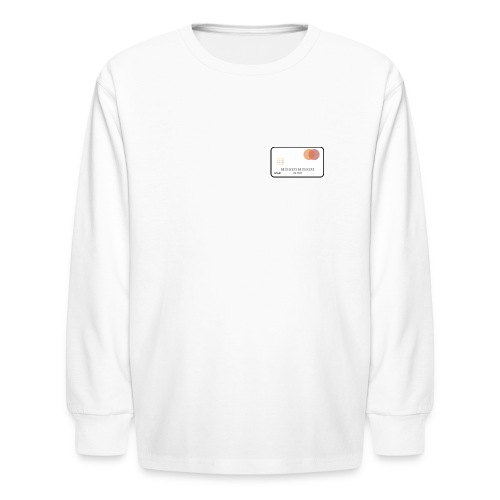 CARD3 - Kids' Long Sleeve T-Shirt