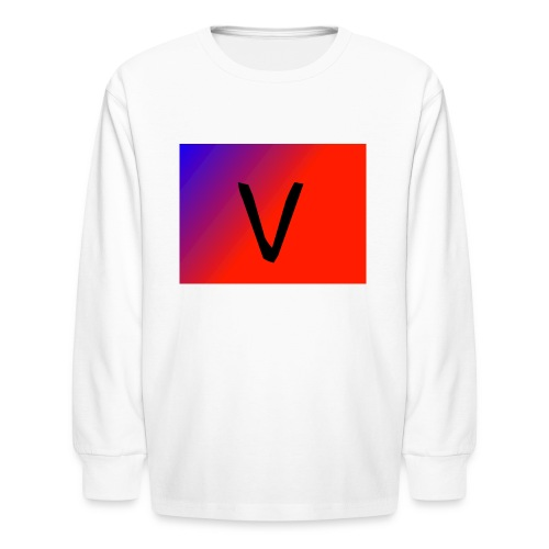 V for Vast - Kids' Long Sleeve T-Shirt