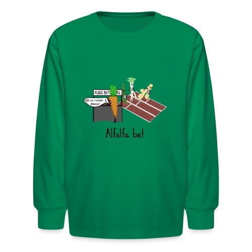 Alfalfa Bet - Kids' Long Sleeve T-Shirt