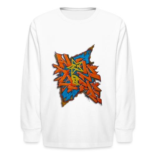 Artgomez14 - NYG Design - Kids' Long Sleeve T-Shirt
