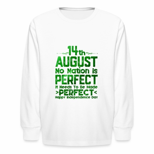 14th August Independence Day - Kids' Long Sleeve T-Shirt