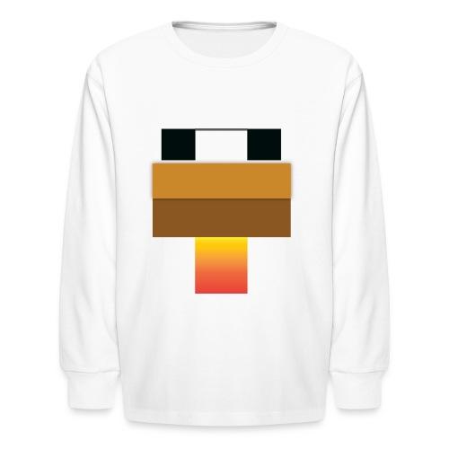 chicken Head - Kids' Long Sleeve T-Shirt