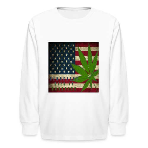 Political humor - Kids' Long Sleeve T-Shirt