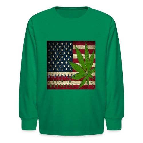 Political humor - Kids' Long Sleeve T-Shirt