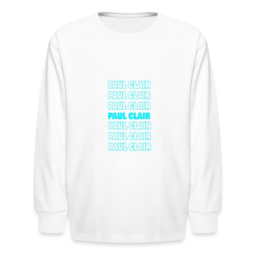 Paul Clair Stand Out Youth & Babies - Kids' Long Sleeve T-Shirt