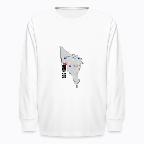 Toe Bidness - Kids' Long Sleeve T-Shirt