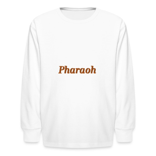 Pharoah - Kids' Long Sleeve T-Shirt