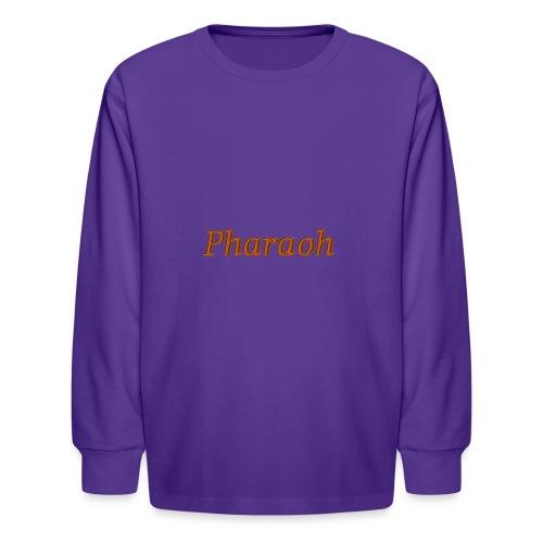 Pharoah - Kids' Long Sleeve T-Shirt