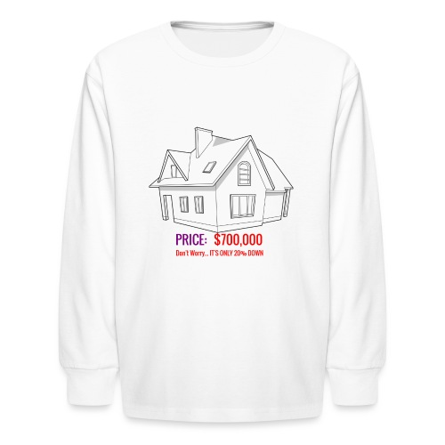 Fannie & Freddie Joke - Kids' Long Sleeve T-Shirt