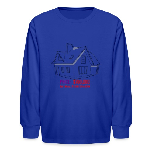 Fannie & Freddie Joke - Kids' Long Sleeve T-Shirt