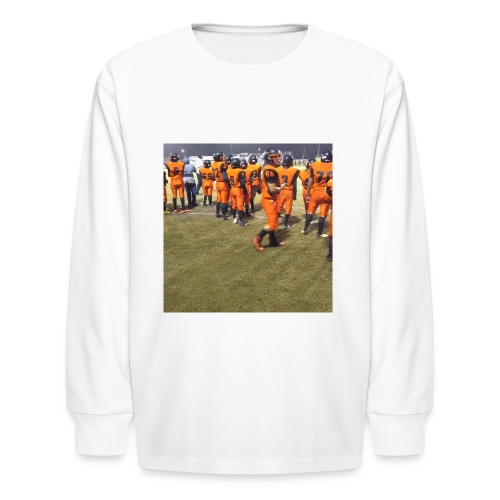 Football team - Kids' Long Sleeve T-Shirt