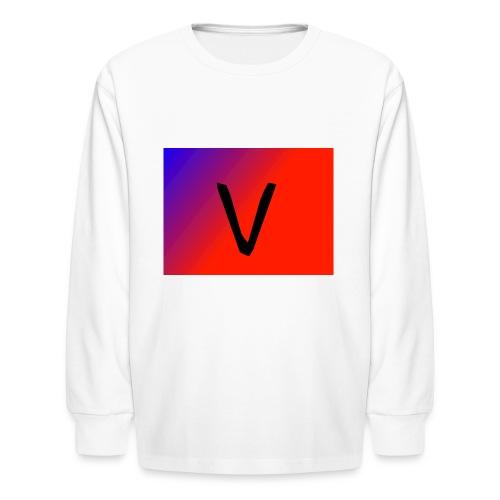 V for Vast - Kids' Long Sleeve T-Shirt