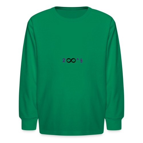 To Infinity And Beyond - Kids' Long Sleeve T-Shirt