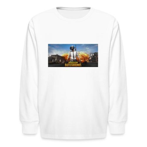 pubg 1 - Kids' Long Sleeve T-Shirt