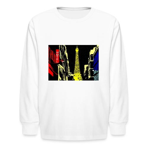 PARIS - Kids' Long Sleeve T-Shirt