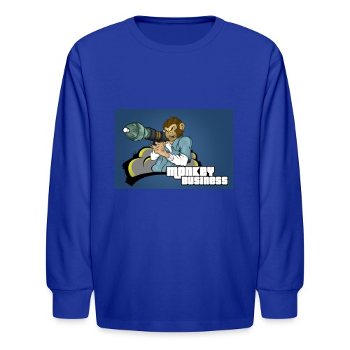 MonkeyBuisness - Kids' Long Sleeve T-Shirt