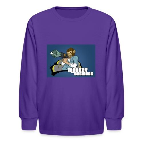 MonkeyBuisness - Kids' Long Sleeve T-Shirt