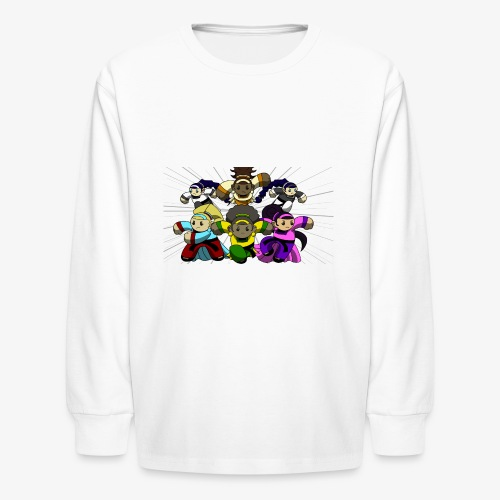 The Guardians of the Cloudgate, no logo - Kids' Long Sleeve T-Shirt
