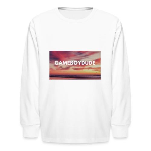 GameBoyDude merch store - Kids' Long Sleeve T-Shirt