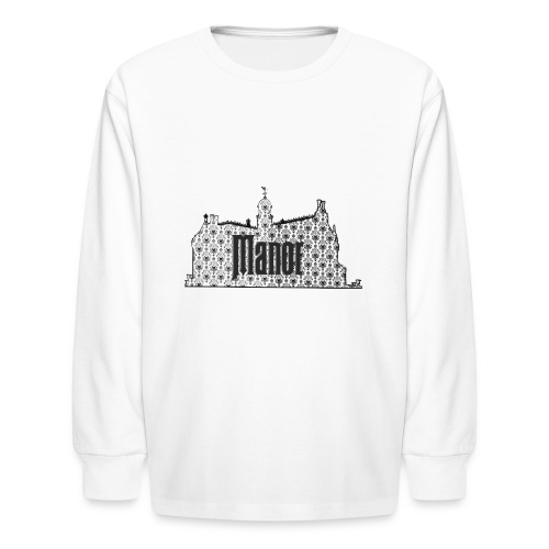Mind Your Manors - Kids' Long Sleeve T-Shirt