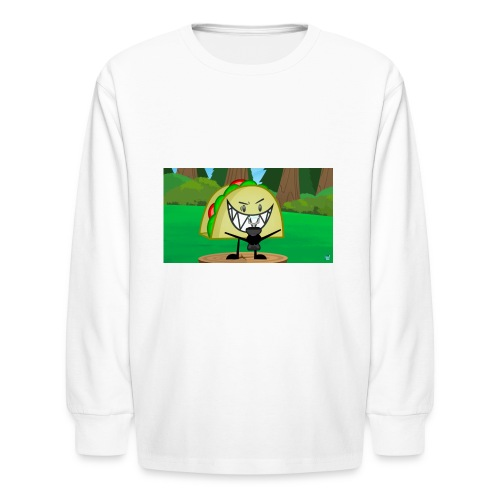 EVIL TACO ha - Kids' Long Sleeve T-Shirt