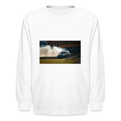 nissan skyline gtr drift r34 96268 1280x720 - Kids' Long Sleeve T-Shirt