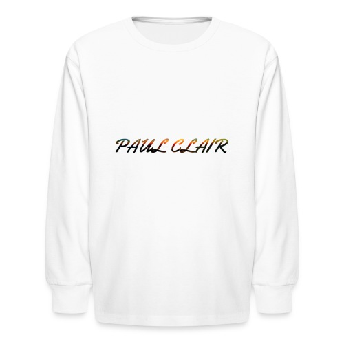 Rainbow Paul Clair Youth & Babies - Kids' Long Sleeve T-Shirt