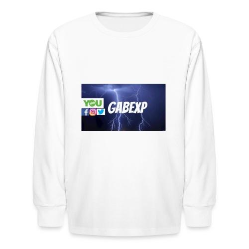 gabexp 1 - Kids' Long Sleeve T-Shirt
