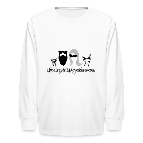 LTBA Heads Logo - Kids' Long Sleeve T-Shirt