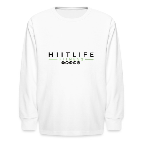 HLFLogosocial - Kids' Long Sleeve T-Shirt
