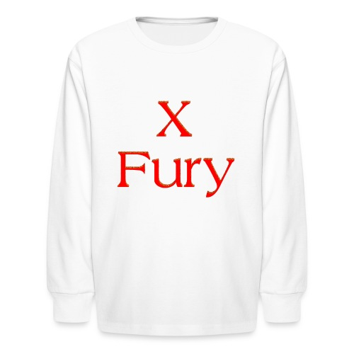 X Fury - Kids' Long Sleeve T-Shirt